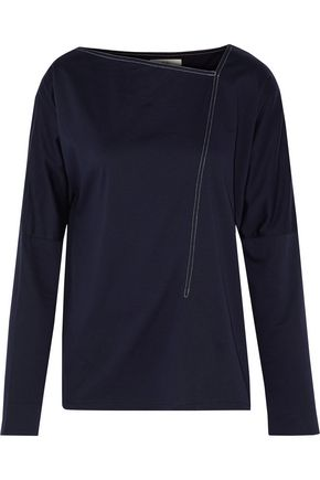 TIBI Cotton-jersey top