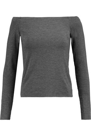BAILEY 44 Off-the-shoulder jersey top
