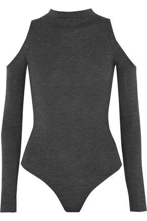 BAILEY 44 Cold-shoulder stretch-jersey bodysuit
