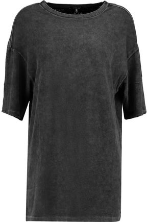 R13 Stretch cotton-blend T-shirt