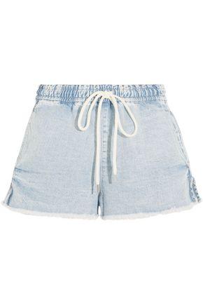 BASSIKE Frayed denim shorts