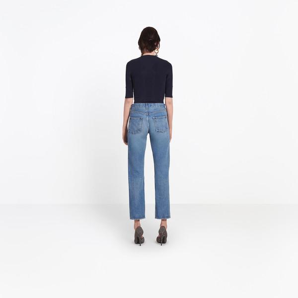 BALENCIAGA Denim Woman Standard Jeans h
