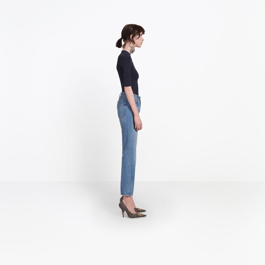 BALENCIAGA Standard Jeans Denim Woman i