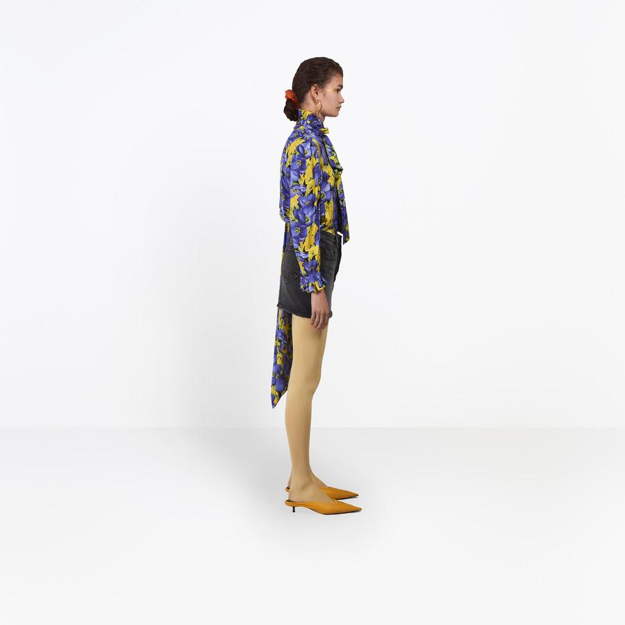BALENCIAGA Denim Mini Skirt Denim Woman i