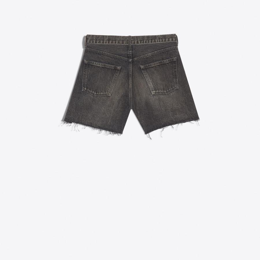 BALENCIAGA Standard Shorts Denim Woman d
