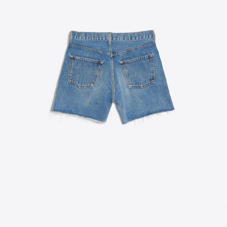 BALENCIAGA Standard Shorts Denim D d
