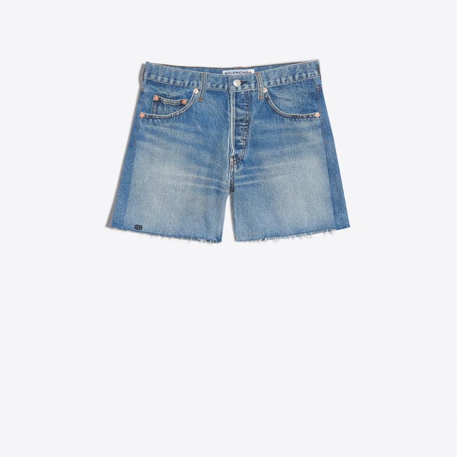 BALENCIAGA Standard Shorts Denim D f