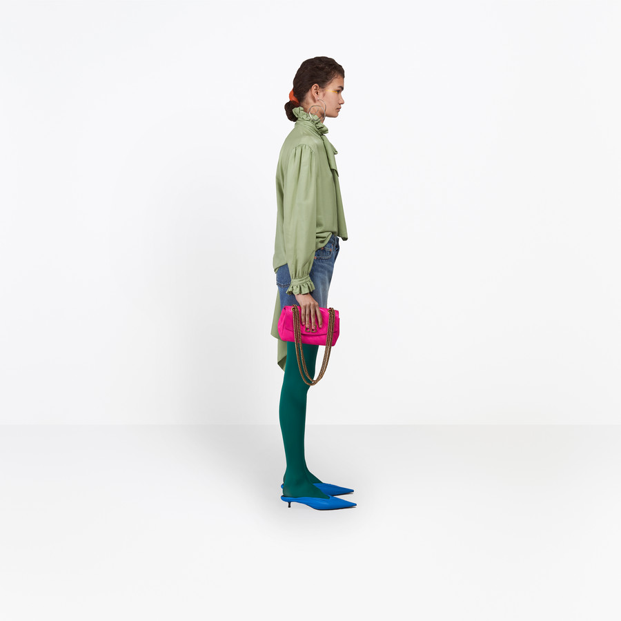 BALENCIAGA Standard Shorts Denim D i