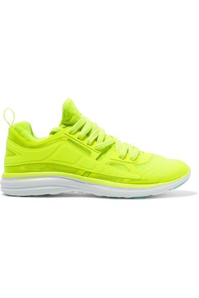 APL® ATHLETIC PROPULSION LABS Prism neon mesh sneakers
