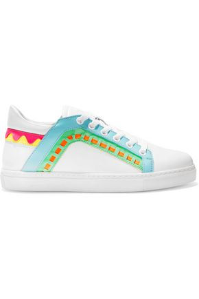 SOPHIA WEBSTER Riko leather sneakers