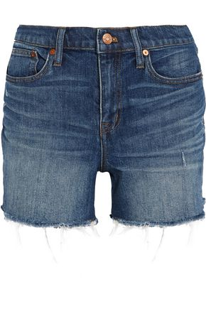 MADEWELL Distressed denim shorts