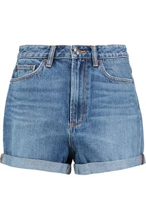 MARC BY MARC JACOBS Embellished denim shorts