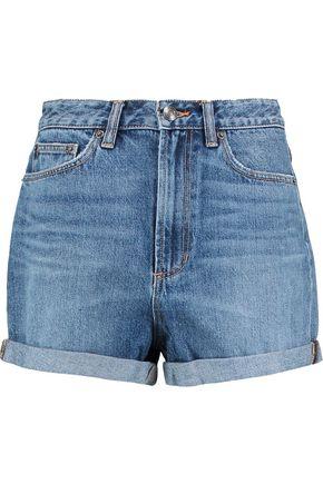 MARC BY MARC JACOBS Embellished denim shorts