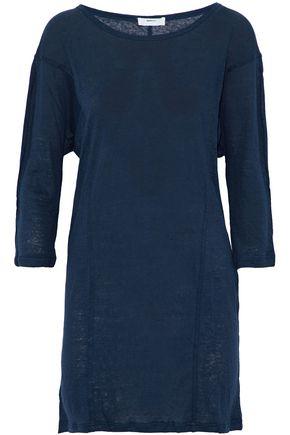 MIKOH Slub linen mini dress