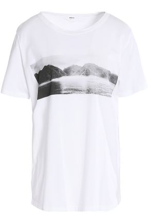 MIKOH Printed cotton T-shirt