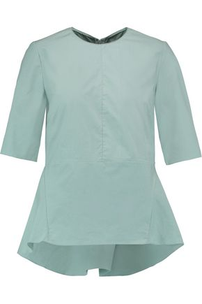 MARNI Flared cotton blouse