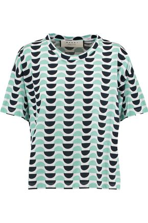 MARNI Printed cotton T-shirt