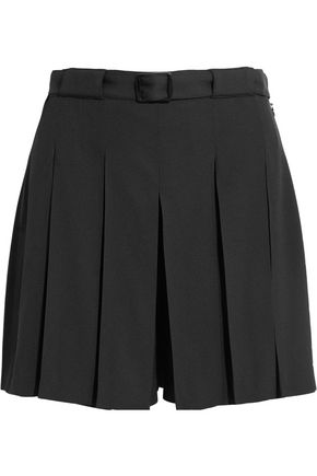 A.P.C. Soho pleated crepe shorts