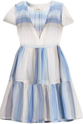 MASTER&MUSE x LEMLEM Banu striped cotton-gauze dress