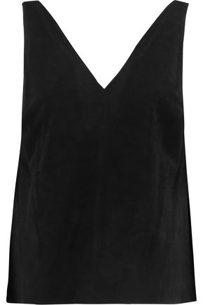 ROBERT RODRIGUEZ Suede top