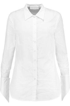 ROBERT RODRIGUEZ Cotton-poplin shirt