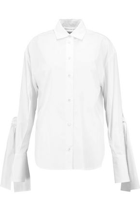 ROBERT RODRIGUEZ Cotton-poplin shirt