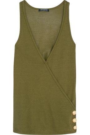 BALMAIN Sleeveless