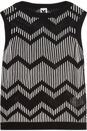 M MISSONI Stretch-knit top