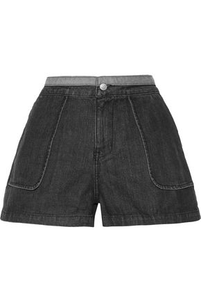 OPENING CEREMONY Two-toned denim shorts