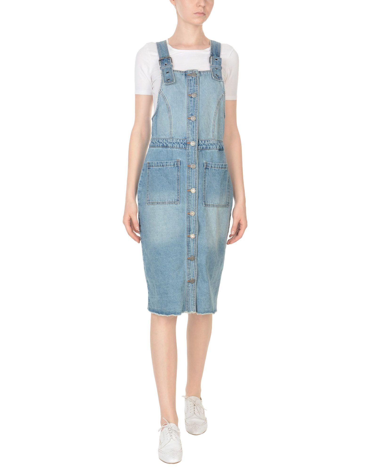 《期間限定セール中》NOISY MAY レディース ジャンパースカート ブルー M コットン 100%