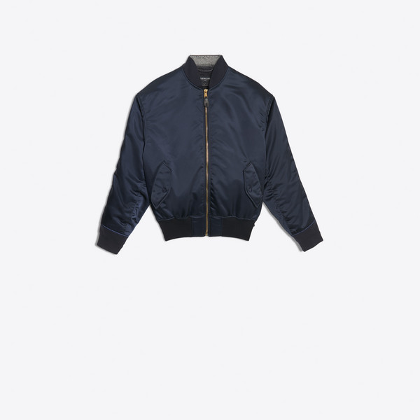 Bomber Denim Jacket