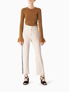 Pantalon tailoring à rayures