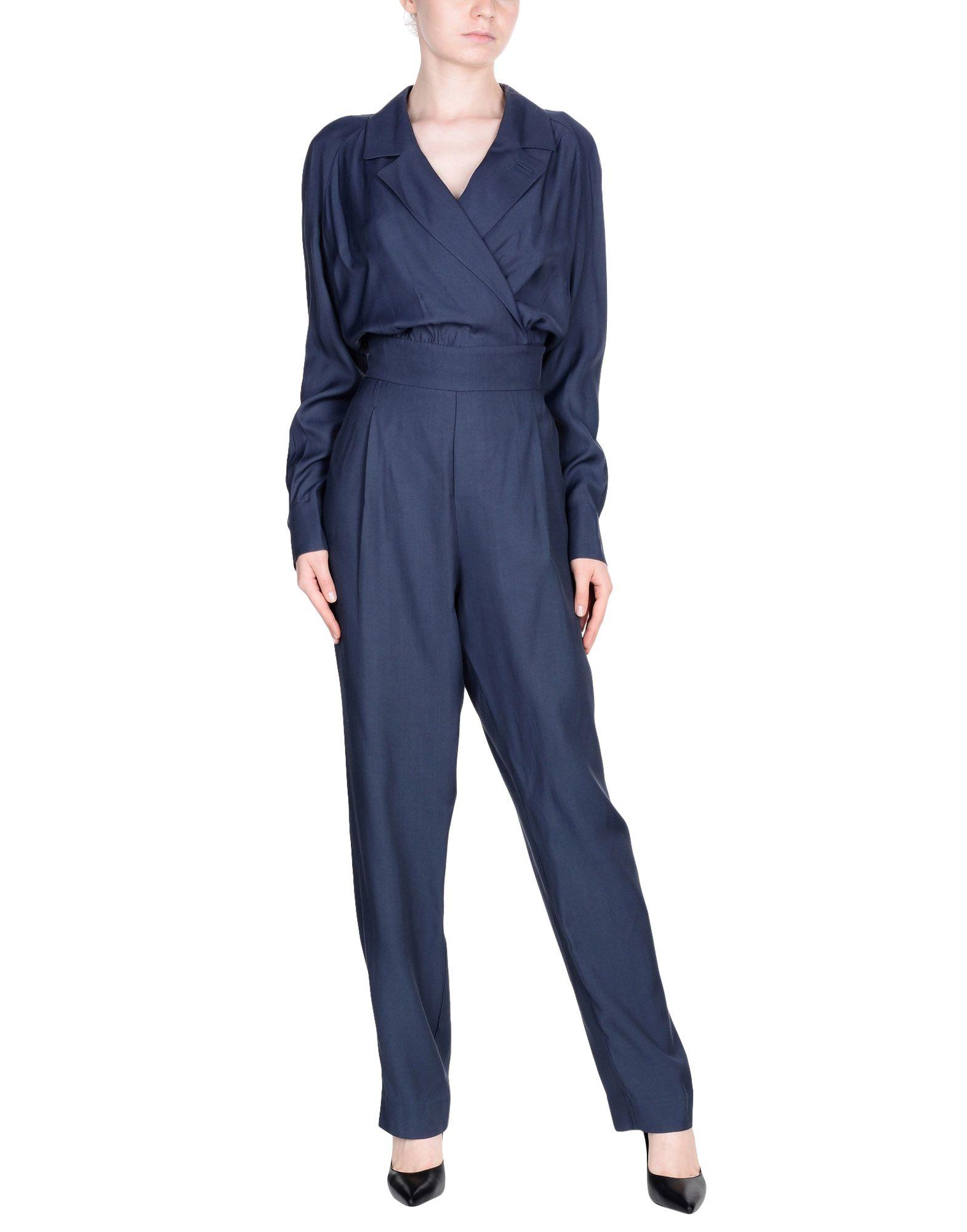 TOPSHOP UNIQUE Комбинезоны без бретелей topshop unique джинсовая верхняя одежда