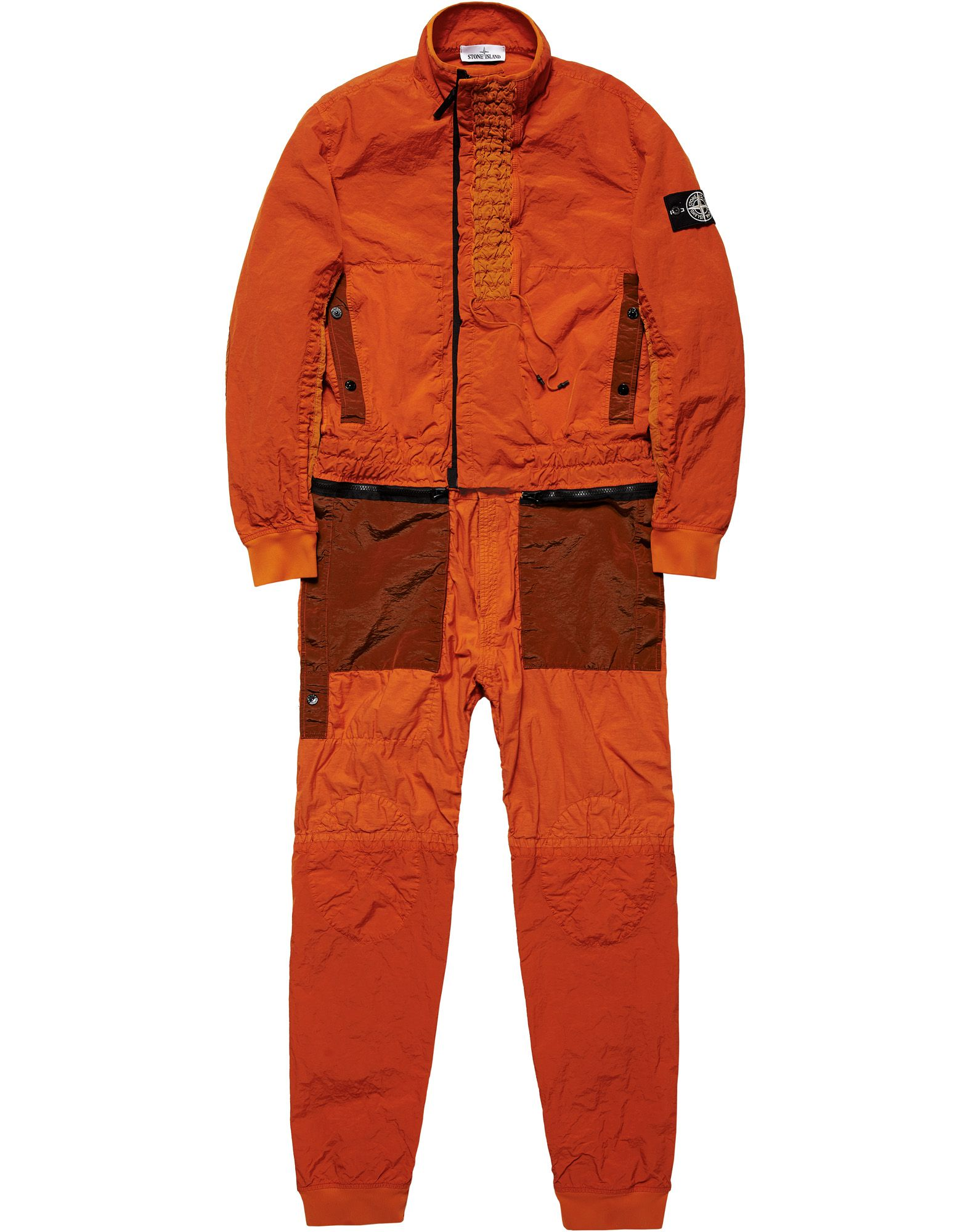 STONE ISLAND JUMPSUIT PROTOTYPE RESEARCH_SERIES 03<br>EXTREME COMPACTING PROCESS ON NYLON BASE