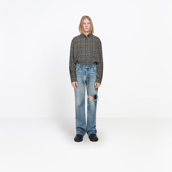 Bootcut Knee Hole Jeans