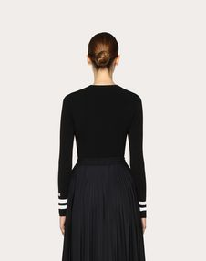 VLTN Stretch Viscose Jumper