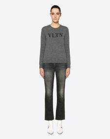 VLTN Cashmere Wool Sweater