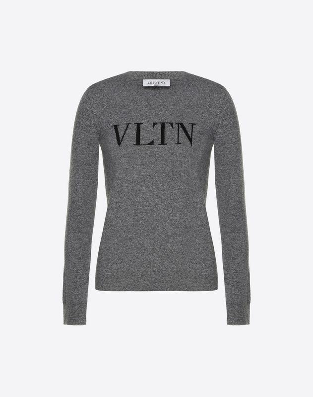 Pull VLTN en laine-cachemire