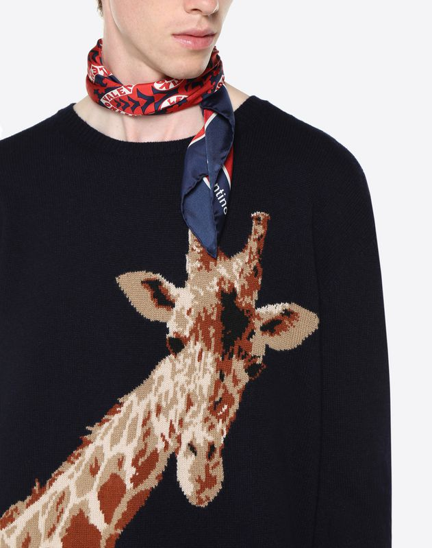 GIRAFFE INLAY JUMPER