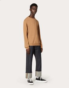 ROCKSTUD UNTITLED CASHMERE JUMPER