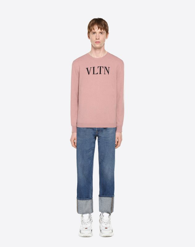 VLTN INLAY SWEATER