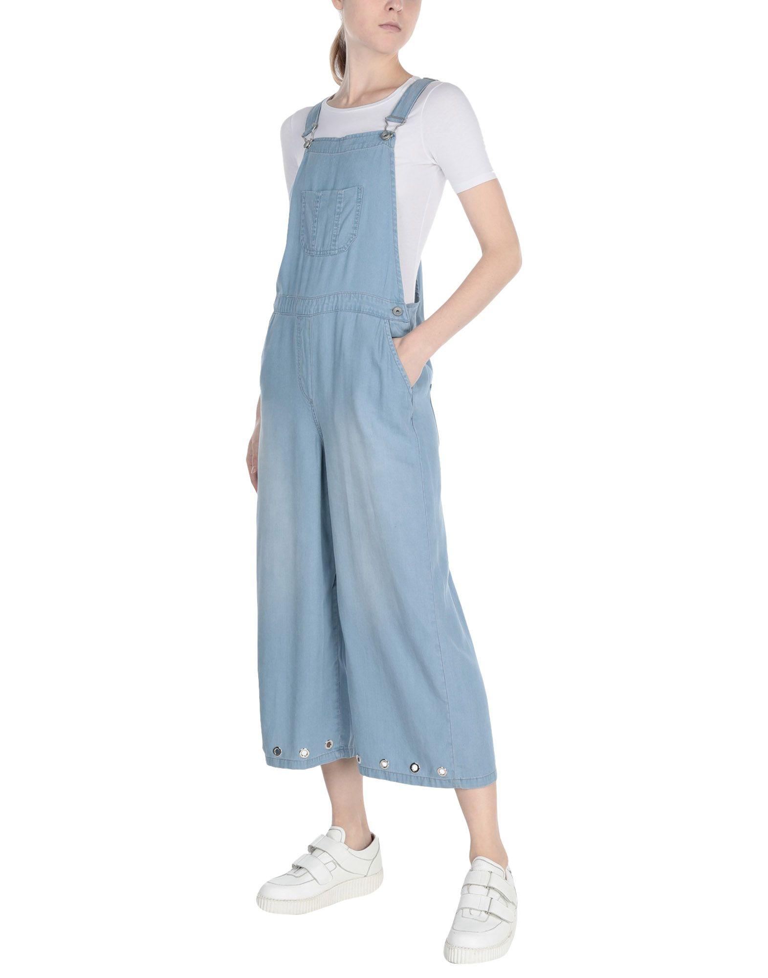 《送料無料》SHIKI レディース パンツジャンプスーツ ブルー 27 コットン 100%