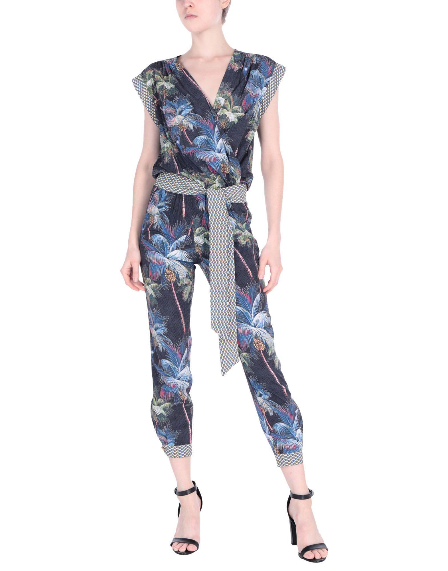 PIN UP STARS Комбинезоны без бретелей retro v neck short sleeve buttoned pin up dress for women