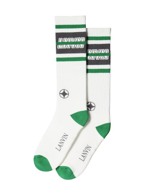 "HIGH ""LNVN"" SOCKS - Lanvin"