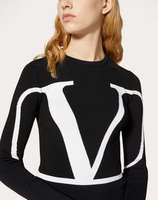 VLOGO Stretch-Viscose Sweater