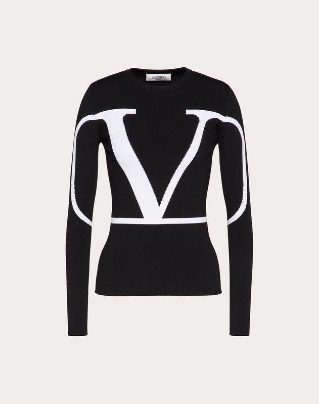 VLOGO Embroidered Sweater