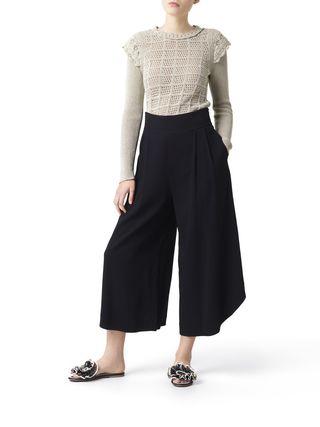 Pantaloni ondulati