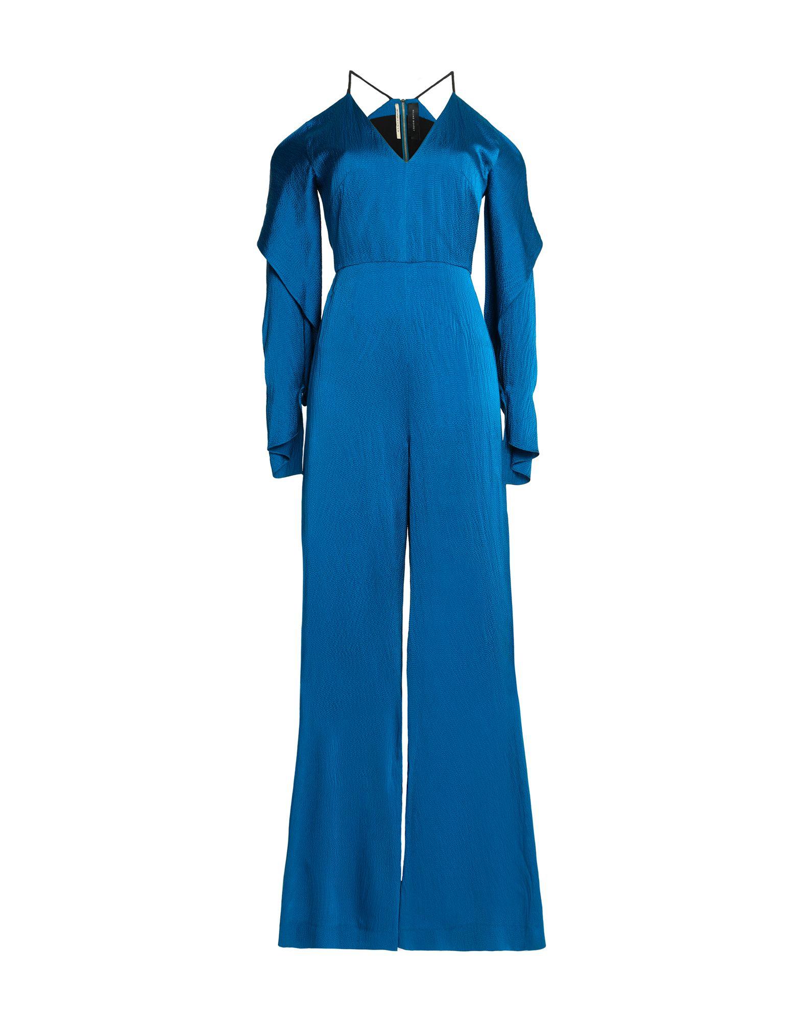 《セール開催中》ROLAND MOURET レディース ジャンプスーツ ブライトブルー 6 シルク 100%