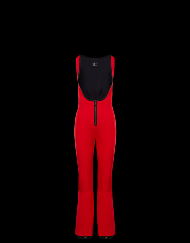 SKI SUIT Red Grenoble Ski Suits Woman