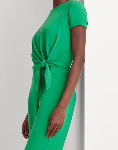 Фото 2 - Комбинезоны без бретелей от LAUREN RALPH LAUREN изумрудно-зеленого цвета